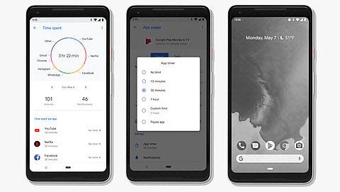 Google helpt Android-gebruikers om smartphone minder te gebruiken