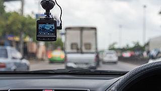 Verkeersovertreders vaker gepakt door dashcams