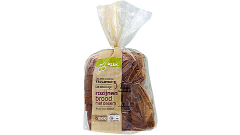 Plus roept rozijnenbrood terug vanwege onvermelde noten