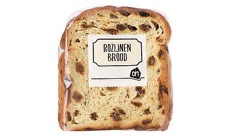 'Rozijnenbrood' van Albert Heijn is mogelijk muesli-notenbrood