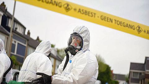 Subsidiepot voor het verwijderen van asbest is leeg}