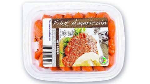 Salmonella in filet americain van Aldi
