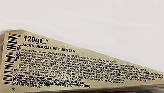 Waarschuwing: Quaranta nougat bevat soja