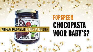Chocopasta voor baby's 'meest misleidende product'