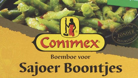 Rubber in boemboe van Conimex}