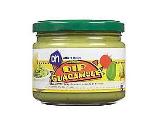 Avocado-arme guacamole van AH uit de schappen