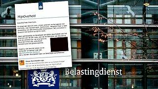 Bericht over teruggave van 970 euro van 'Belastingdienst' en 'MijnOverheid' is vals!