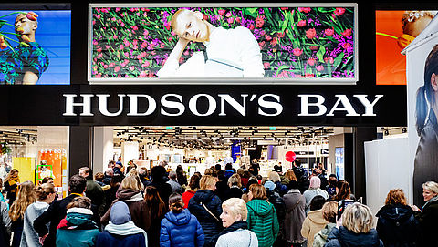 'Faillissement Hudson's Bay dreigt'