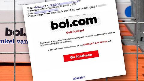 Pas op: e-mail over winactie van bol.com is nep!}