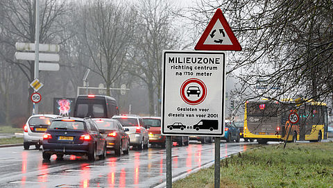 Nederlanders in Antwerpse milieuzone straks beboet}