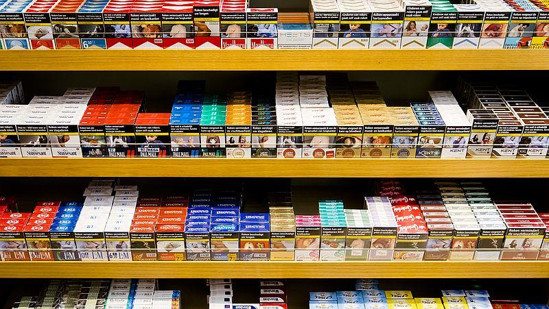 Sigaretten en shag duurder vanaf 1 april