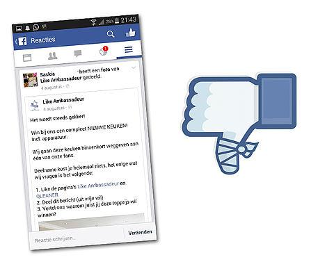 4 vragen over Facebook-winacties}
