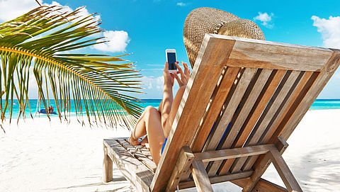 Vakantiegangers ontevreden over internetsnelheid in buitenland