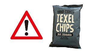 NVWA: Pas op met zoute Texelchips