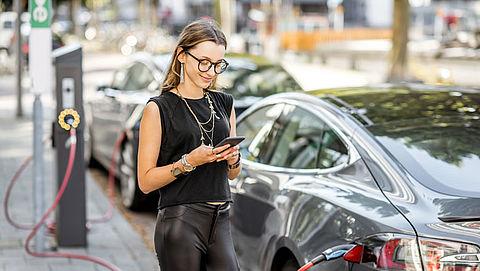 Verkoop elektrische auto's verdubbeld