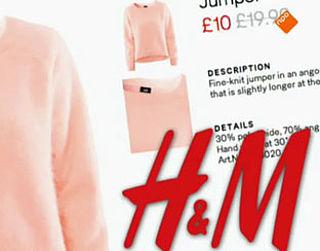 H&M stopt met productie angorakleding