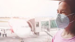 RIVM: 'Mondkapjes verplicht in vliegtuig, aantal passagiers wordt niet beperkt'