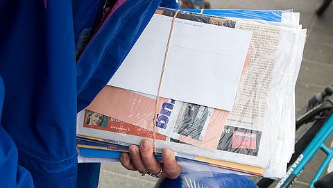 Folderbranche wil Amsterdamse ja-ja-sticker tegenhouden via rechtszaak
