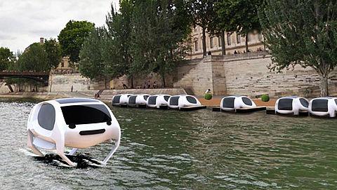 Vliegende watertaxi's komen wegen en binnensteden ontlasten