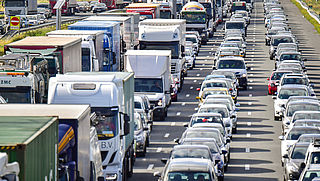 Proef om live mee te kijken met verkeersdrukte Rotterdam