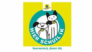'Vuurwerkvrij, dieren blij'-poster veel besteld