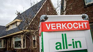 Woningverkoop stevig toegenomen in mei