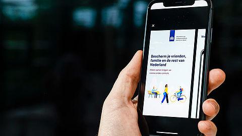 'Stekker uit corona-app als crisis voorbij is'