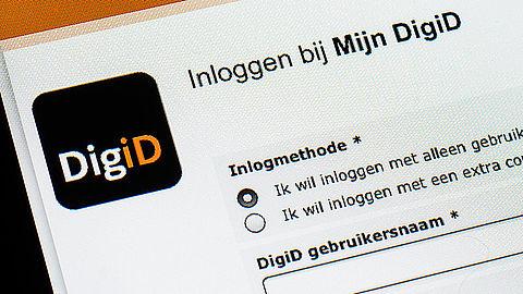 Inloggen bij DigiD met alleen wachtwoord verdwijnt}