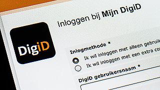 Inloggen bij DigiD met alleen wachtwoord verdwijnt
