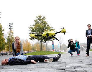 Drones? De overheid ziet ze vliegen