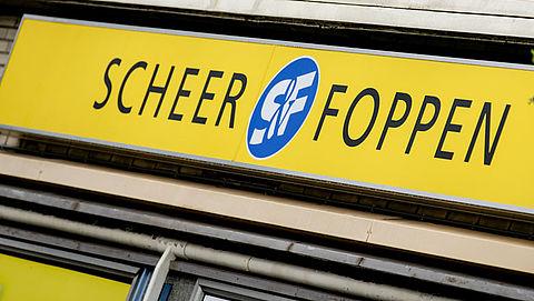 Doek gevallen voor Scheer & Foppen
