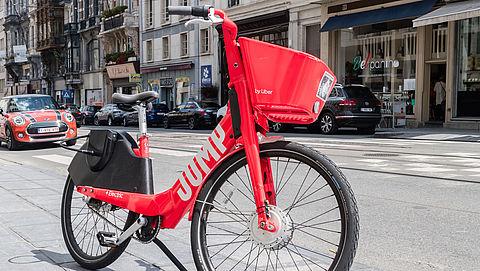 Uber start met elektrische deelfiets in Rotterdam