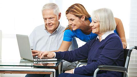 Ouderen vaker op sociale media
