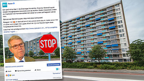 Actie Radar om Vondelflat-directeur te stoppen al door 10.000 mensen gesteund}