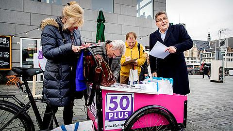 50PLUS: '10.000 handtekeningen verzameld voor referendum aflosboete'