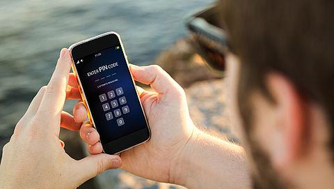 Helft smartphonebezitters gebruikt geen toegangscode}