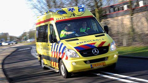 Ambulances vaak te laat in grootste steden