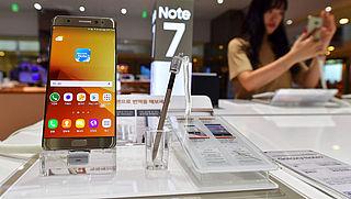 FAA: 'Zet Galaxy Note 7 uit tijdens vlucht'