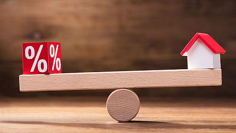 Hypotheekrente komt flink hoger uit