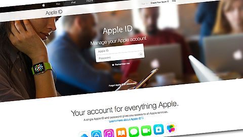 Opgelet! Log niet in op valse Apple-site}