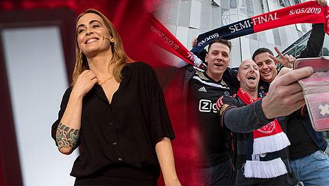 Ajaxfans doen concertkaartjes Anouk goedkoop weg vanwege halve finale Champions League