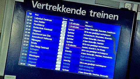 Proef NS: Geen dienstregeling, iedere 10 minuten een trein}