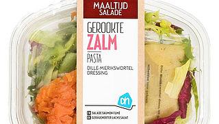 Albert Heijn haalt maaltijdsalade met zalm uit de schappen vanwege ei