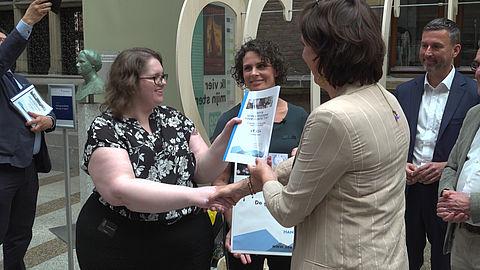 Petitie om glucosesensor in basispakket te krijgen aangeboden