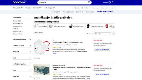 Bol.com haalt producten weg wegens claims rondom coronavirus
