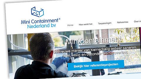 MiniContainment asbestverwijdering veilig? - reactie MiniContainment}