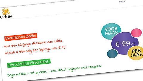Ongewenst Oddie.nl-abonnement? 'Betaal niet!'