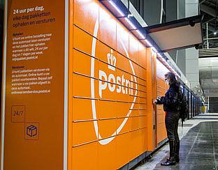 PostNL installeert pakketautomaten op grote stations