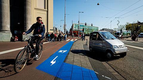 'Veel fietspaden te smal voor hoeveelheid fietsers'