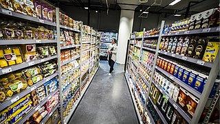 Leeg schap in supermarkt? 'Slimme camera is geen oplossing'
